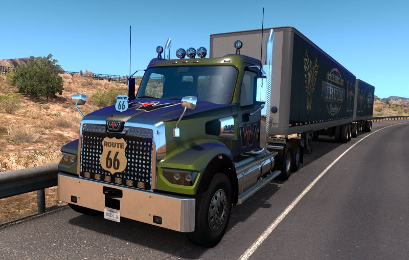 Western Star 49X Little Tuning mod