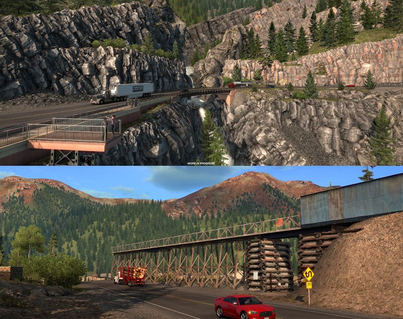american truck simulator dlc highway