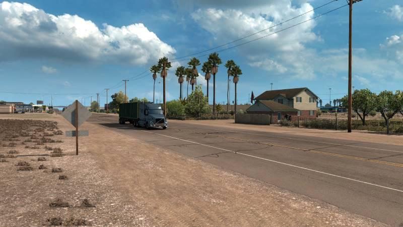 american truck simulator map