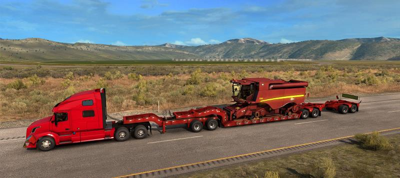 flatbed trailer in ats