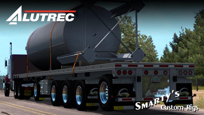 Alutrec Flatbed trailer mod