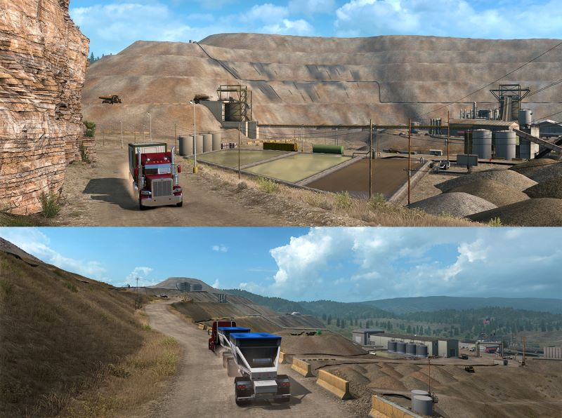 american truck simulator colorado dlc gold