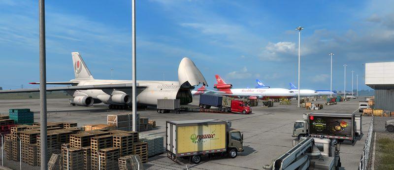 delivering cargo in plane ats
