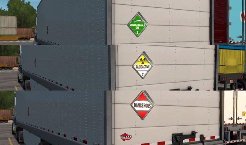 Additional SCS Box Hazmat Cargo