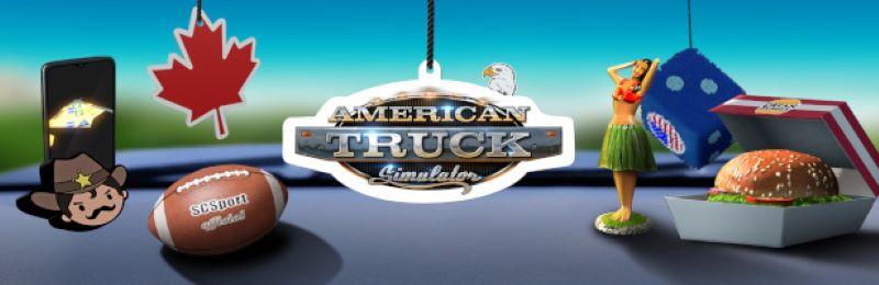 American Truck Simulator Cabin Accessories