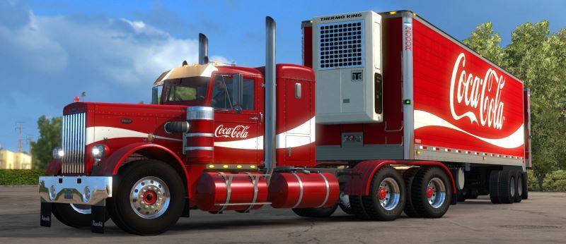 Coca-Cola Truck Skin Pack