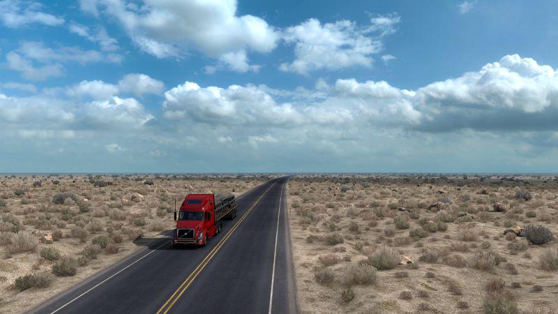 Desert Truck Map
