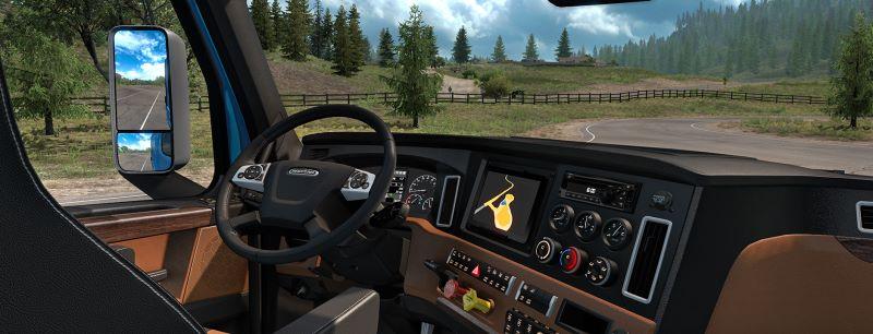 Freightliner Cascadia interior ats