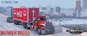 ATS Winter mods