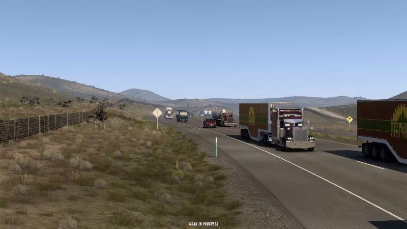 american truck simulator multiplayer mod trucks