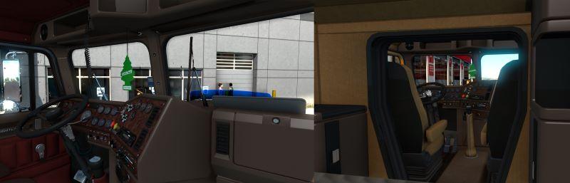 ats interior mod freightliner flc
