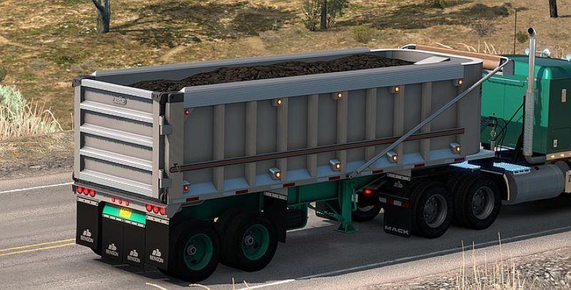 Benson end-dump american truck simulator