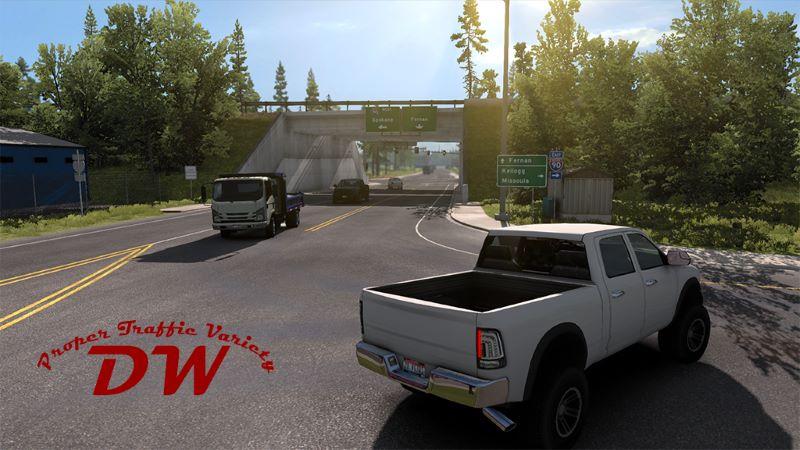 ats Proper Traffic Variety mod