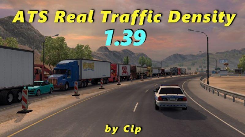 ats Real Traffic Density & Ratio mod