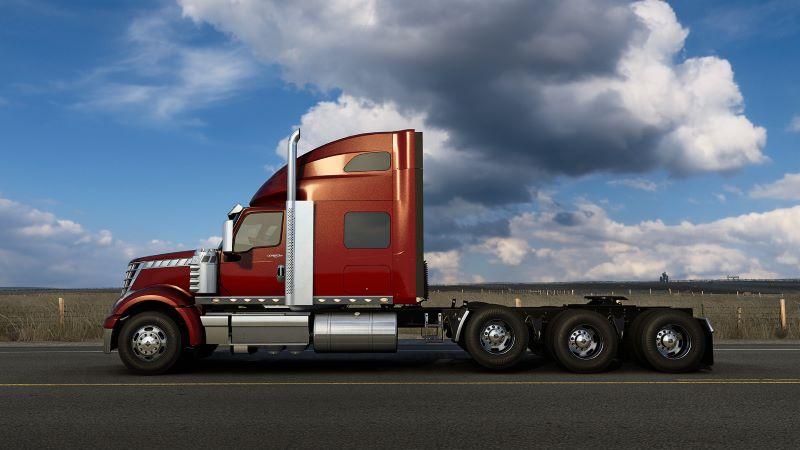 american truck simulator 8x4 truck