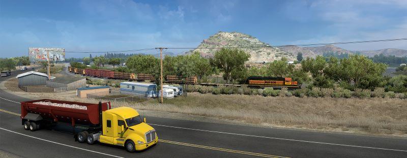 american truck simulator wyoming dlc