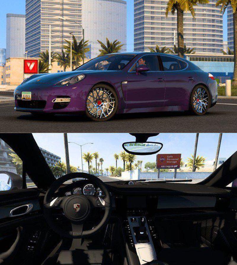 Porsche Panamera Turbo car