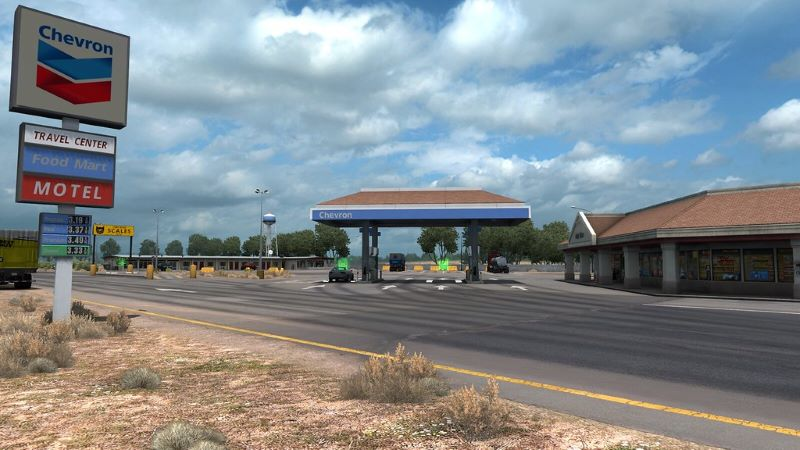 Real Gas Stations Revival Project