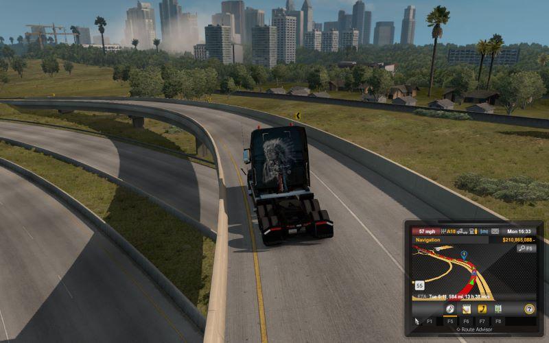 Truck Camera Distance ats mods
