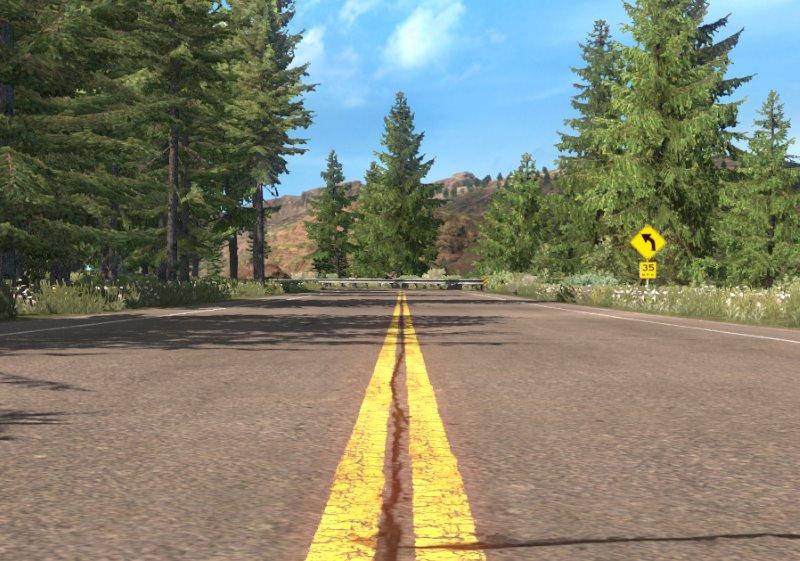 ats mods authentic roads