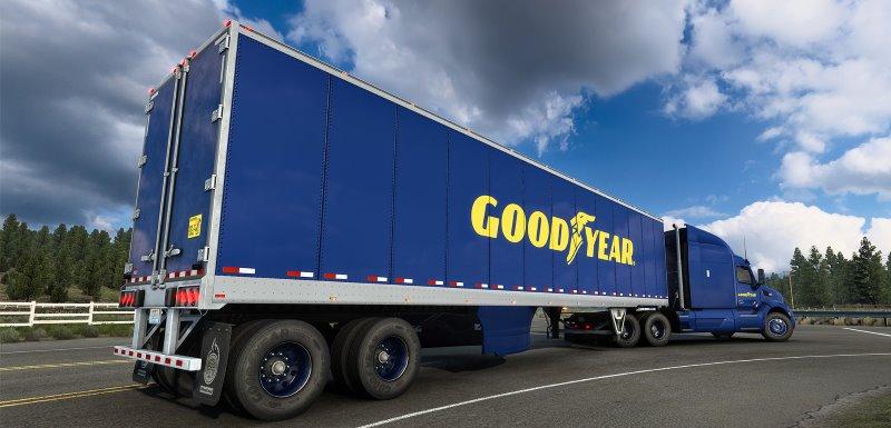 american truck simulator goodyear dlc
