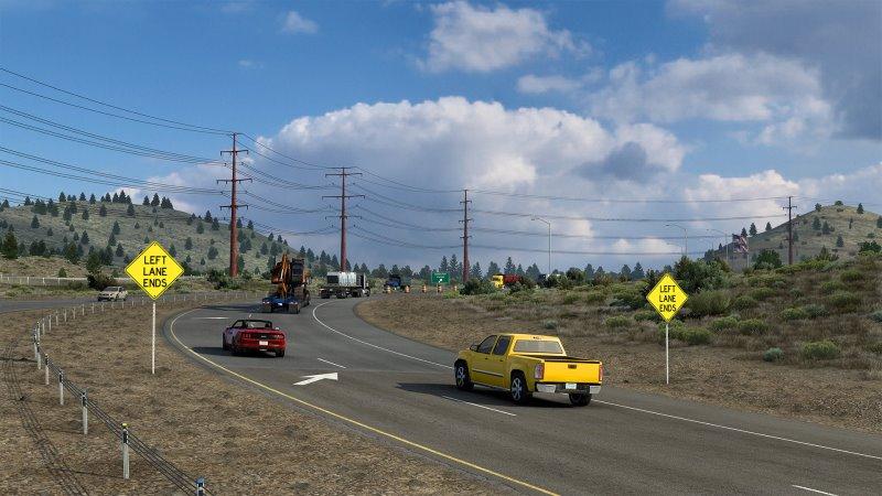 caliornia american truck simulator