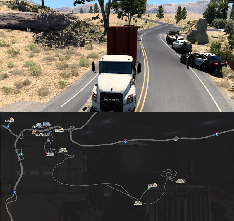 Barstow Extended ats map mod