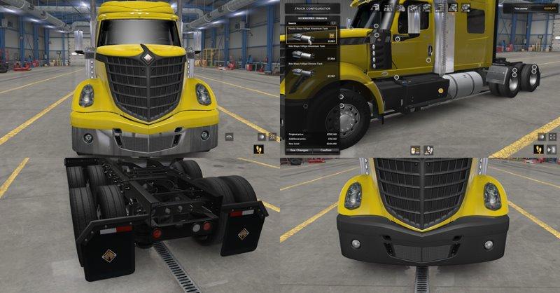 ats mods truck lonestar