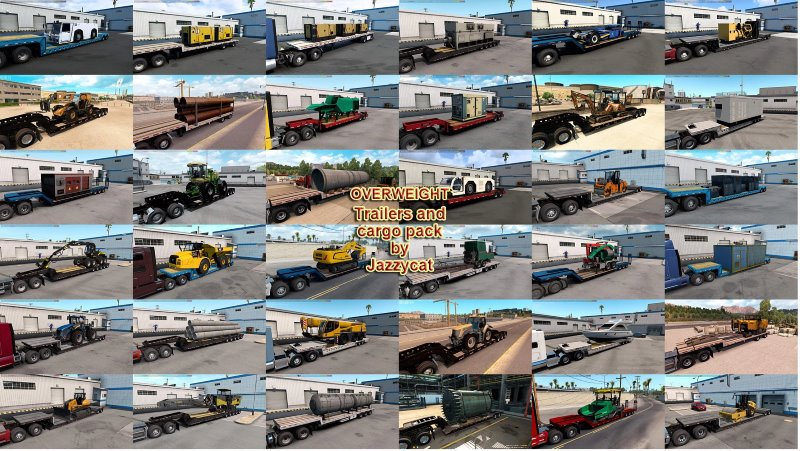 Overweight Trailers and Cargo
